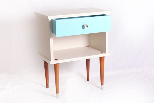 chevet layette vintage relook ann es 60 chevet vintage 1960 chevet chin relook. Black Bedroom Furniture Sets. Home Design Ideas