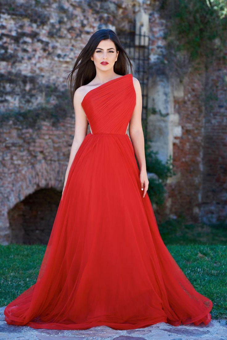 Rochie Ana Radu Midnight Love Red