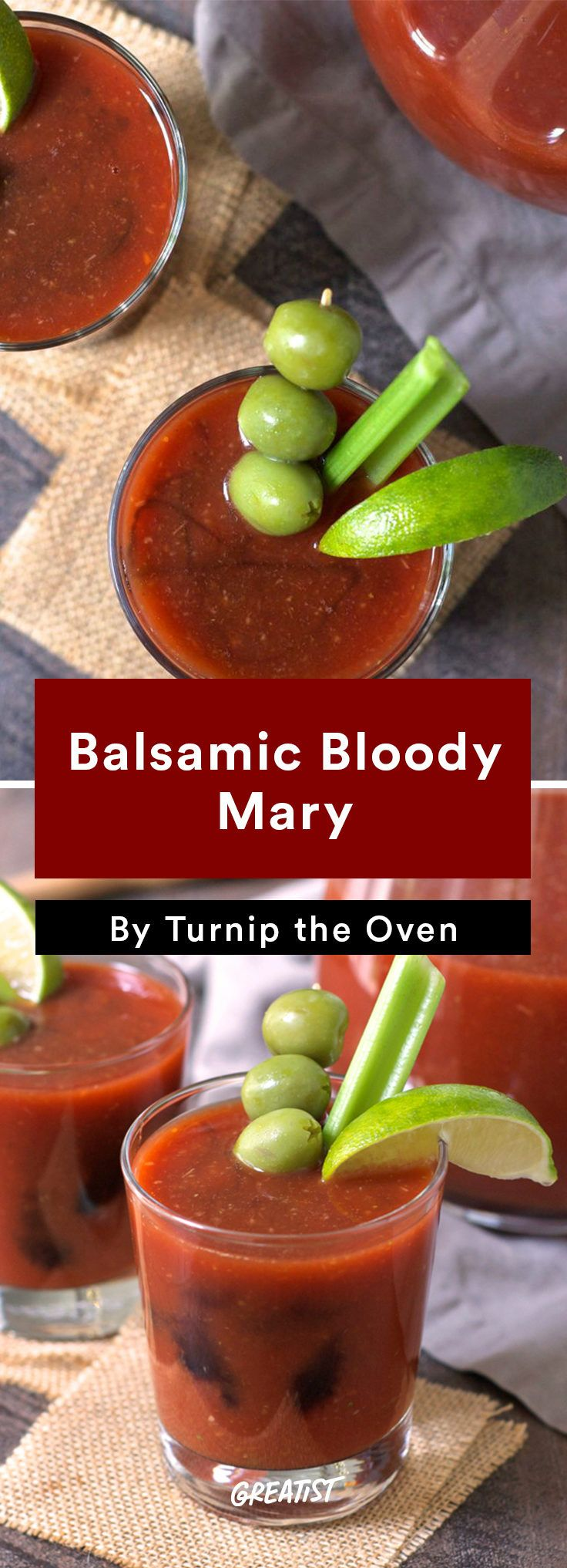 Balsamic Bloody Mary Recipe