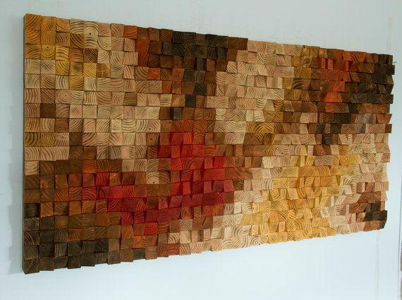Rustieke houten Rotsvlinder Art houten muur beeldhouwkunst