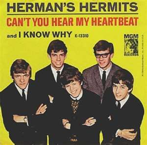 "Herman's Hermits are an English beat (or pop) band, formed in Manchester in 1963 as Herman & The Hermits.Their first hit was a cover of Earl Jean's ""I'm into Something Good"" (written by Gerry Goffin and Carole King), which reached No. 1 in the UK Singles Chart and No. 13 in the US in late 1964."