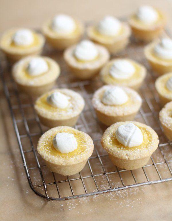 Sugar Cookie Lemon Tarts - Inquiring Chef