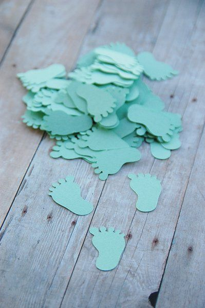 142 best images about gift tags party favors supplies for Baby feet decoration