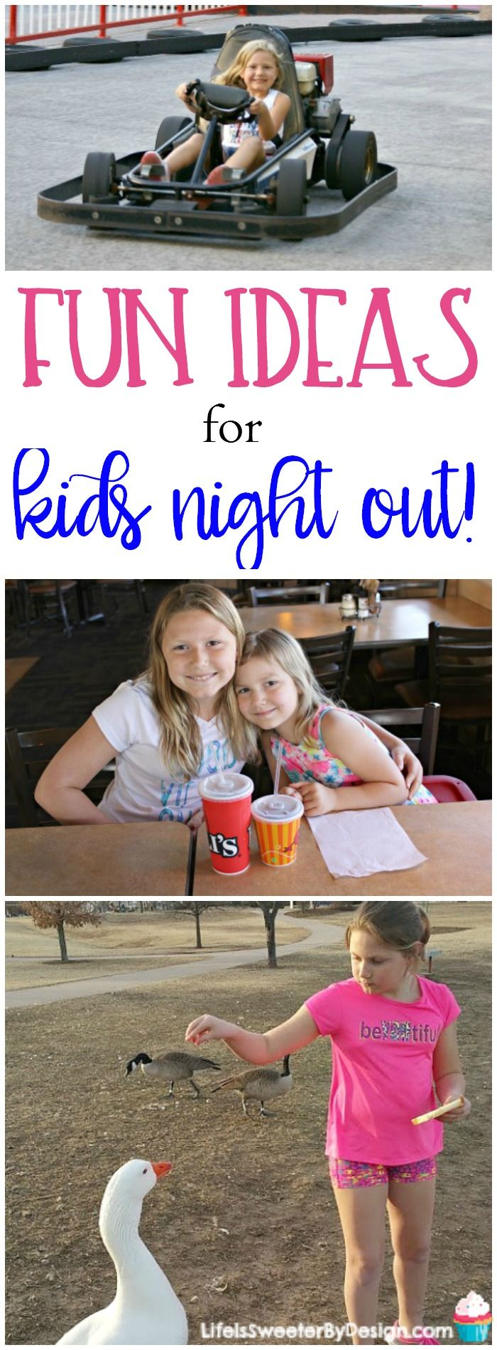 Kids night out is fun for the whole family. Check out these great ideas for family fun and how we love to start our night. AD