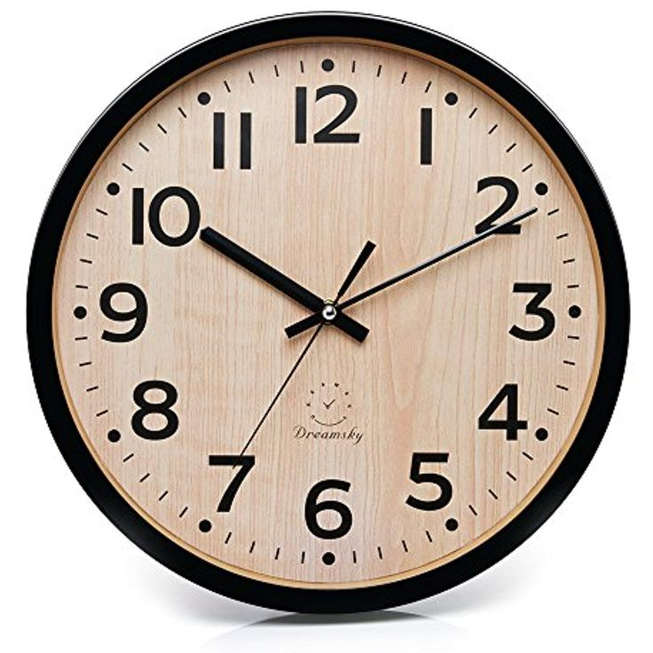 dreamsky 12 large wall clock battery operated non on wall clocks battery operated id=61813