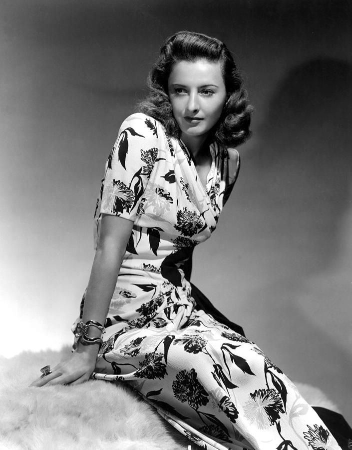 Barbara Stanwyck By Hurrell, 1940 Photograph  - Barbara Stanwyck By Hurrell, 1940 Fine Art Print