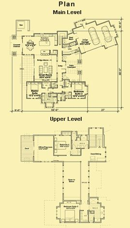 Intriguing layout! Craftsman House Plans With Photos & 4 Bedroom Country Style Plans