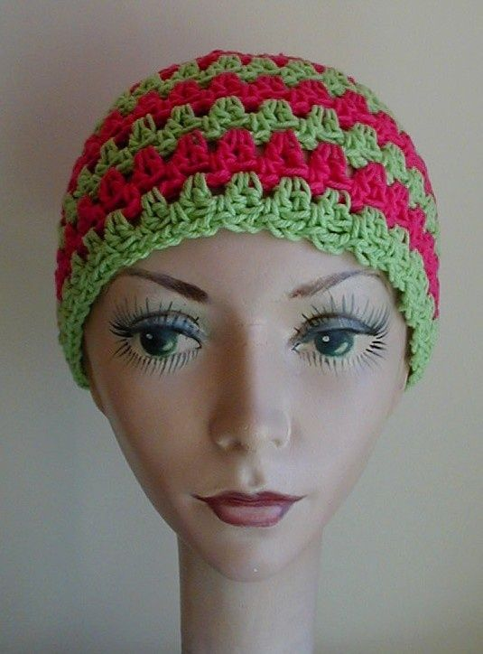 Crochet Patterns Chemo Caps : Chemo cap pattern. Crocheted Hats Pinterest