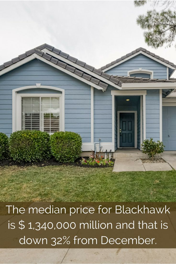 Looking for a home in Blackhawk CA? Blackhawk CA Real Estate market is seeing an increase in inventory!