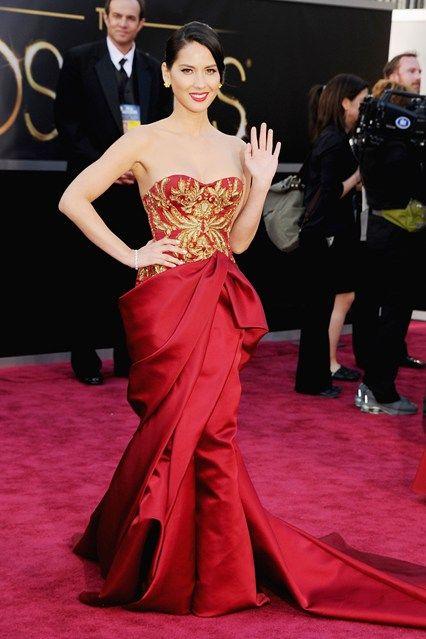 Olivia Munn Oscars 2013