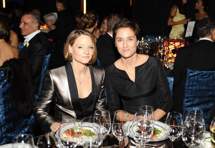 Jodie Foster and Alexandra Hedison