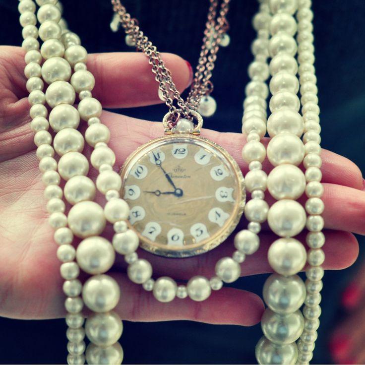 www.asibella.blog.com  PEARL & vintage watch