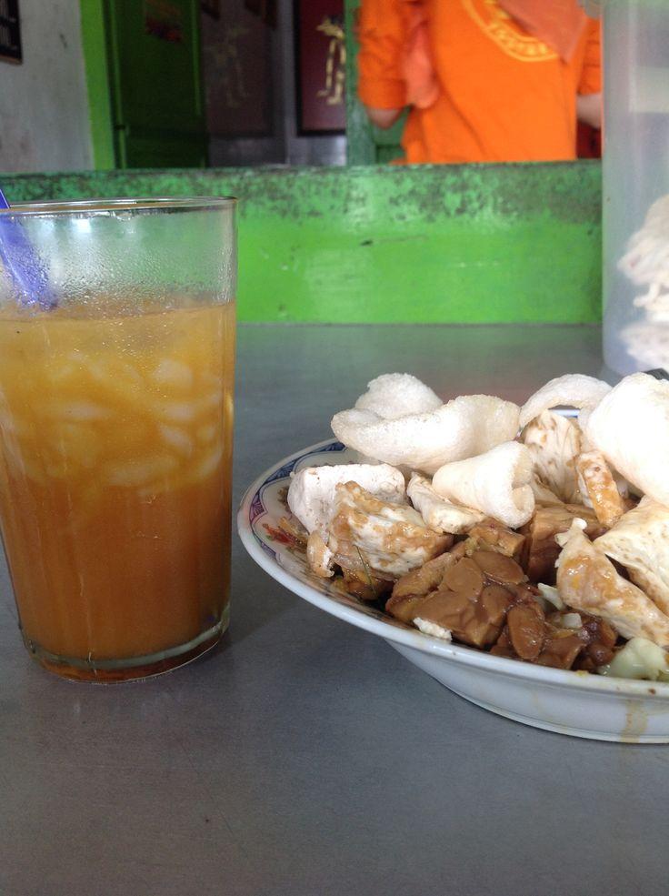Delicious Kupat Tahu Pak Budi from Jogja. Come visit Jogjakarta.
