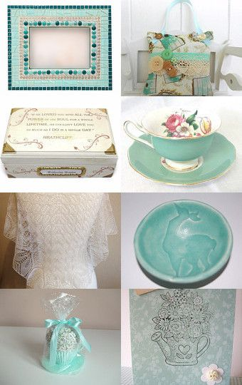 Mint Creams by Carolyn Ford on Etsy--Pinned with TreasuryPin.com
