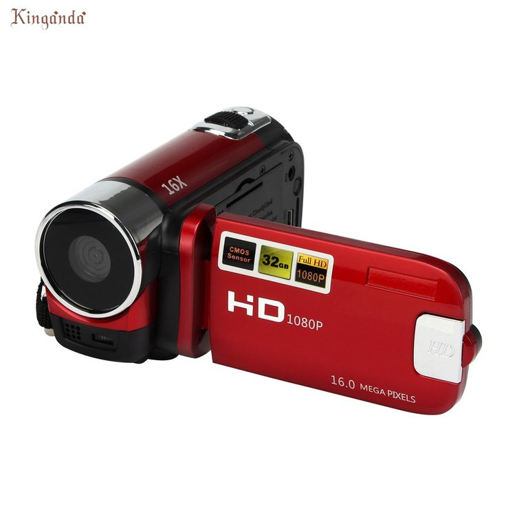 El mejor Precio! Popular Portátil HD 1080 P Cámara Digital 16MP 16X Digital Zoom cámara de Vídeo CMOS Sensor Cámara Dv maR2