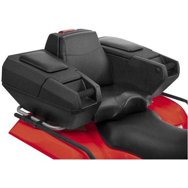 ATV Backrest Rear Seat Storage Cushion Four Wheeler Quad Chair Passenger Box NEW