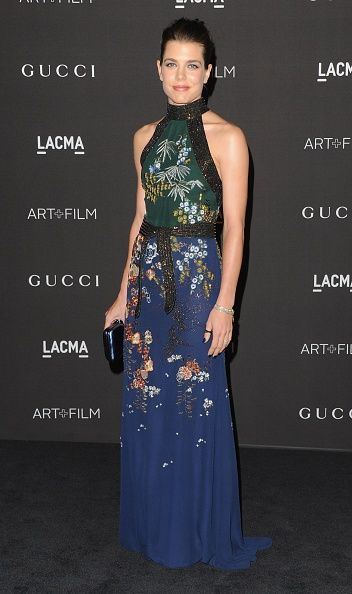 Charlotte Casiraghi attends the 2014 LACMA Art - Film Gala