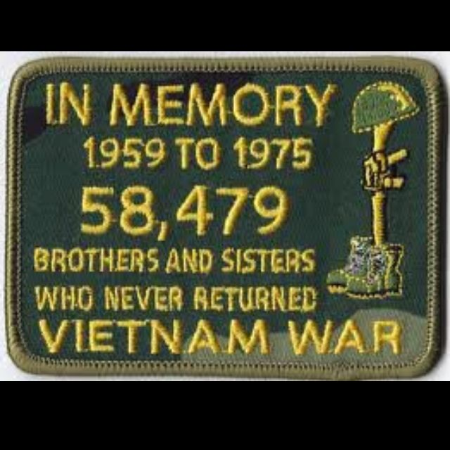 Vietnam War.....and they were brave and each a gift to our generation...remember them