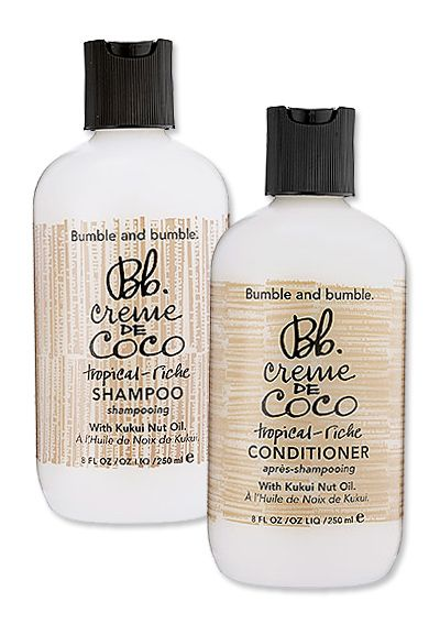 Winter Beauty Must-Haves to Keep You Warm and Glowing All Season - Bumble and Bumble Creme de Coco Shampoo and Conditioner from #InStyle