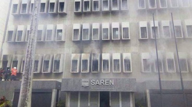 Venezuela se queda poder apostillar documentos por incendio en servidores del Saren - http://www.leanoticias.com/2017/06/08/suspendido-apostillado-incendio-servidores-saren/
