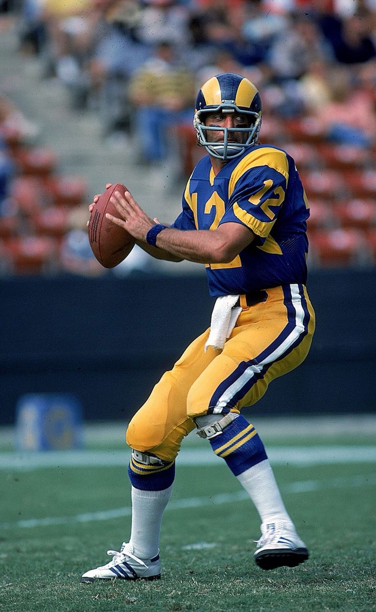 Los Angeles Rams QB Joe Namath