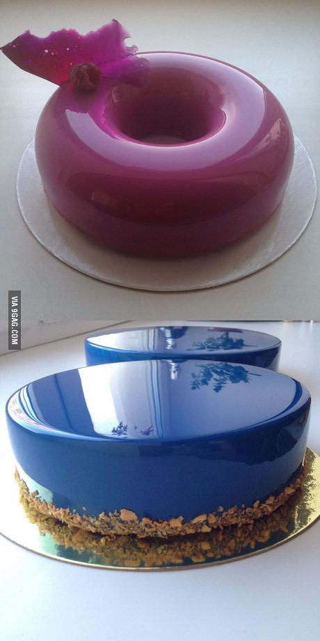 Mirror Finish Cakes