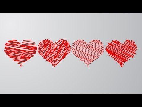 Как нарисовать красивое сердце в Adobe Illustrator / Уроки по Adobe illustrator / Julia Rose - YouTube