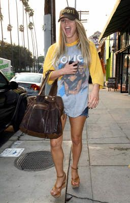 Jessica Simpson... I don't care what anyone says about her! She just has the cutest style!! Love her!!!