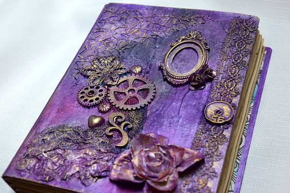 diary handmade journal A5 Guest Book wedding photo