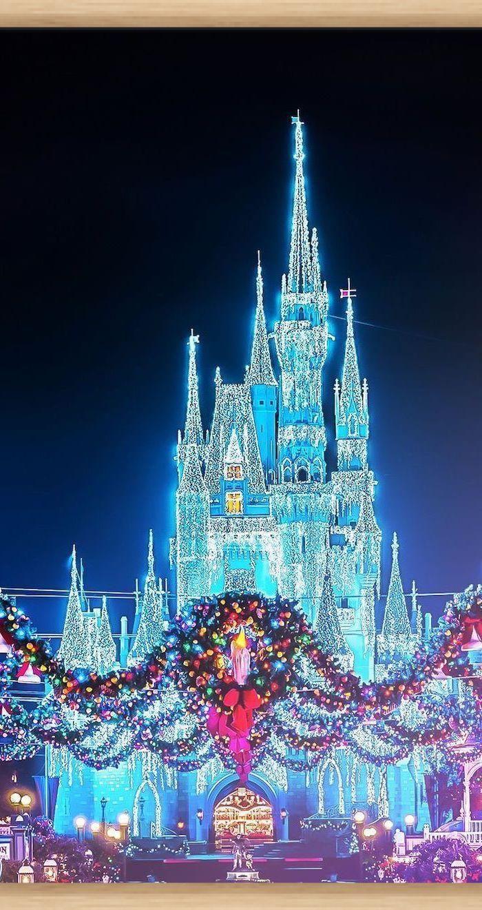 1001 Idees De Fonds D Ecran Et D Arriere Plans D Hiver Pour Votre Ecran En 2020 Disneyland Disney Magic Voyage Disney