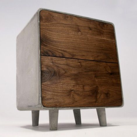 \\ Concrete Cabinet by Jean Willoughby
