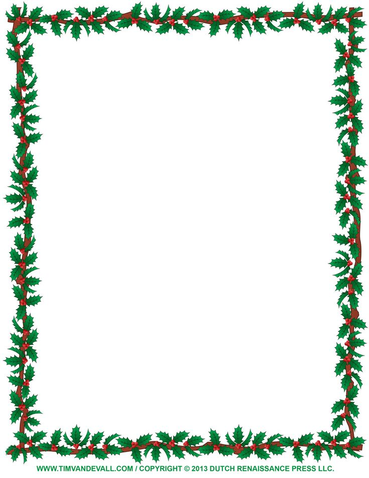 Christmas Certificate Border.Eyeglasses New Year Border Merry Christmas And Happy New