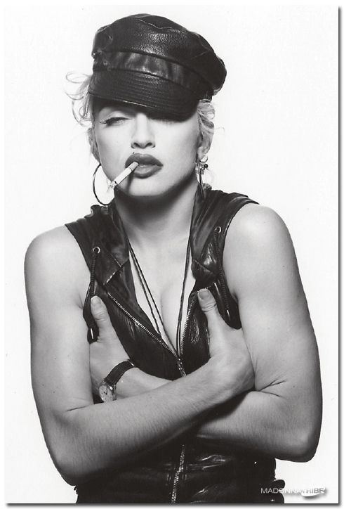 Madonna channeling Brando. imho.