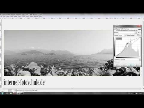 In GIMP ein Foto in Schwarzweiss konvertieren - Tutorial