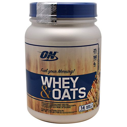 You will love our new product Optimum Nutrition...   http://fitnessgearusa.com/products/optimum-nutrition-whey-oats?utm_campaign=social_autopilot&utm_source=pin&utm_medium=pin