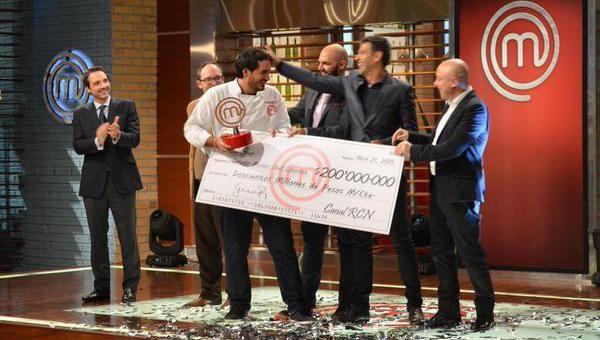 Federico Martínez es el ganador de MasterChef Colombia #Televisión