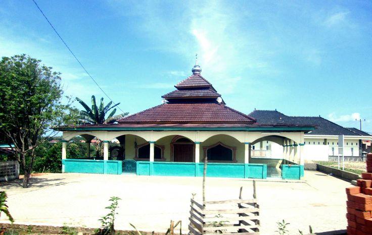 Our places of worship and silahturahmi, masjid darusallam, muara enim