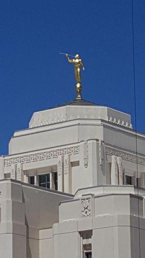 Meridian Idaho LDS (Mormon) Temple Construction Photographs