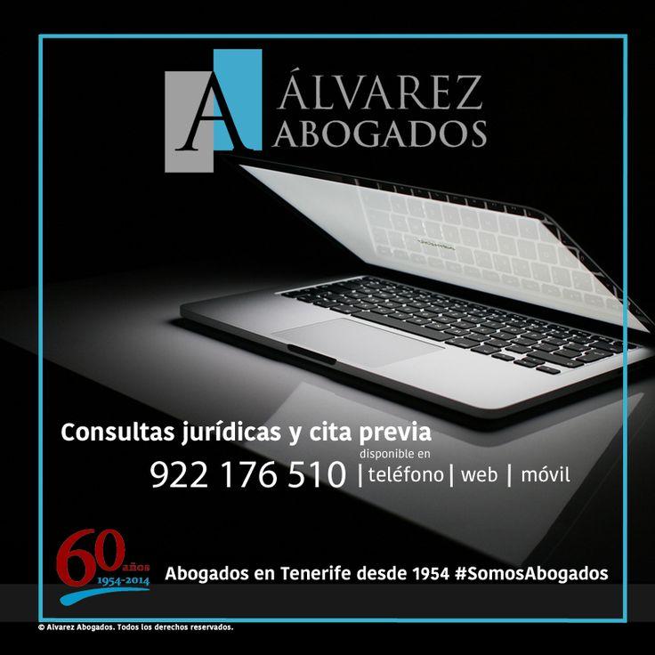 Consultas jurídicas y cita previa en 922176510, web y móvil. http://alvarezabogadostenerife.com/?p=5430 #SomosAbogados