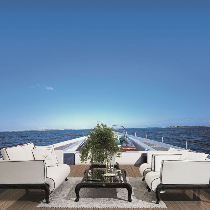 CANOPO Lounge By Samuele Mazza Outdoor Collection. Luxury Outdoor Furniture  In Synthetic Wicker And Rattan