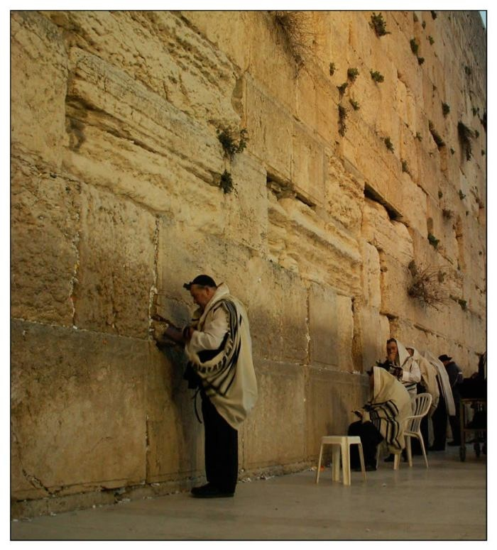 The Wailing Wall located In Jerusalem