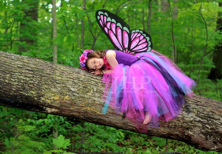 A 2011 Butterfly girl