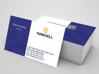 Turkcell firmaları için kartvizit örneği