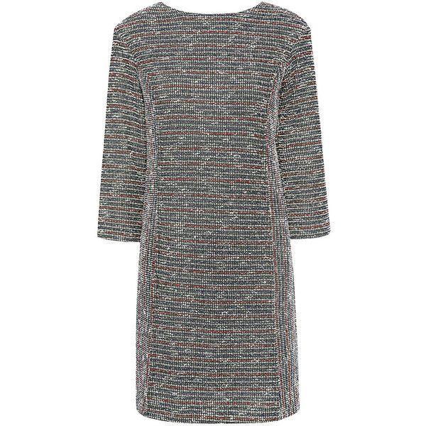 Paul & Joe Sister - Striped Lurex Knit Balloon Dress ($240) ❤ liked on Polyvore featuring dresses, paul joe sister dress, 3/4 sleeve dress, stripe dresses, three quarter length sleeve dresses and stripe knit dress