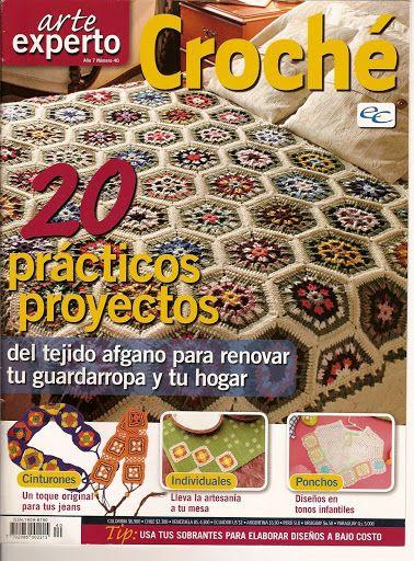 ARTE EXPERTO CROCHET- COLCHAS CROCHET - Daniela Muchut - Álbuns da web do Picasa