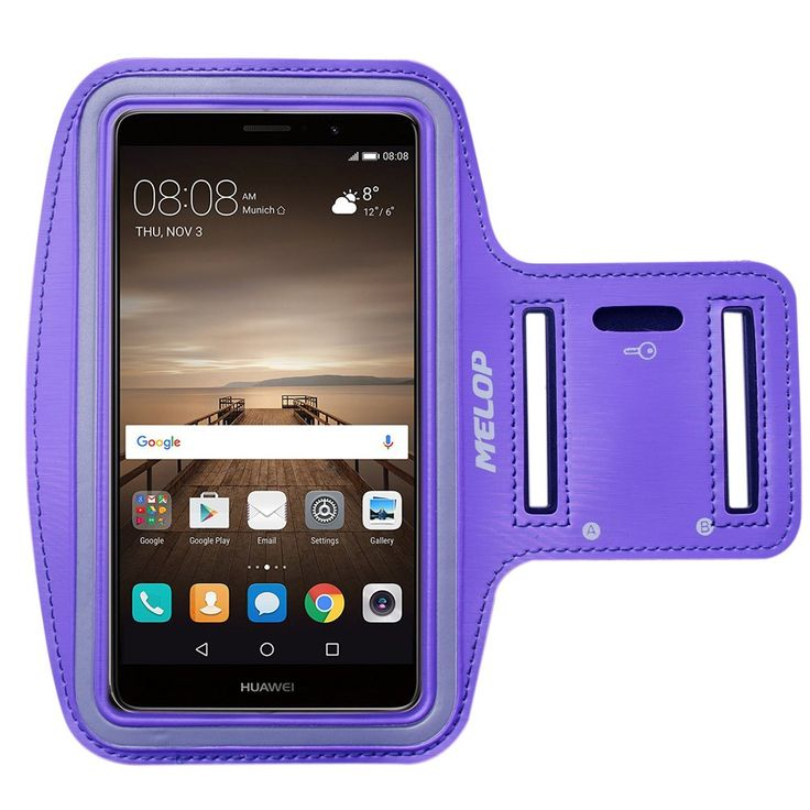 MELOP Armband for Huawei Mate 9 8 lite, Ascend Mate 7, Honor 5X 5C, Honor 6 7 8 6+ plus, P9 P8 lite Soft Sweat Resistant Sports Gym Arm Band with Key Holder and Card / Cash Pocket - Blue. ★Perfect for Huawei Mate9, Mate9 lite, Mate9 Porsche Design, Mate8, Ascend Mate 7, Mate S, P9 P8 lite Plus, Honor 5X 5C 3C Honor 6 Honor 7 Honor 8 Honor 6+ plus, All Huawei phones below 6 inch. ★EASY MANIPULATE:Each side with two holes easy find the earphone hole. Touchscreen feature easy to manipulate…