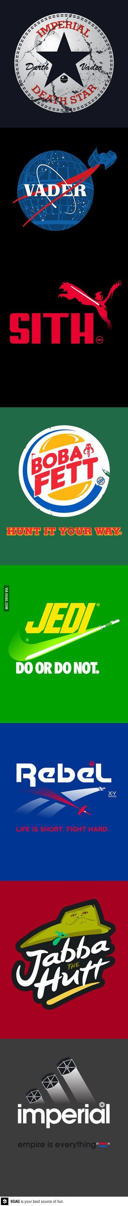 mostly food logo's in the star wars world lol