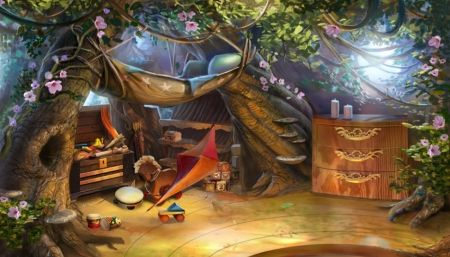 Elf AJs Bedroom Fantasy Abstract Background Wallpapers on