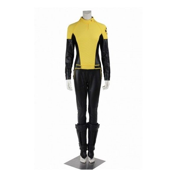 X-Men Deadpool Negasonic Teenage Warhead Cosplay Costume ❤ liked on Polyvore featuring men's fashion, men's clothing and men's costumes