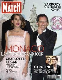 Paris Match # 3332 28 mars 2013 Charlotte et Gad a Bal de la Rose, Monaco le 23 mars/13 Charlotte apporte une robe Chanel Couture printemps 2013